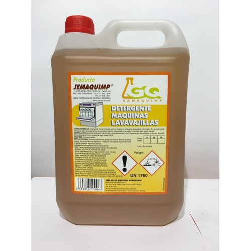 JEMAQUIMP - Detergente Máquinas Lavavajillas - B (Aguas Blandas)