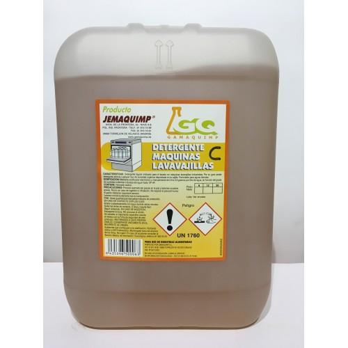 JEMAQUIMP - Detergente Máquinas Lavavajillas - C (Aguas Semiduras)