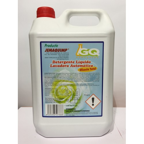 JEMAQUIMP - Detergente Liquido Lavadora Automatica