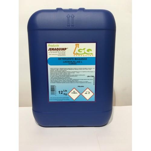 JEMAQUIMP - Detergente Máquinas Lavavajillas - L (Clorado)