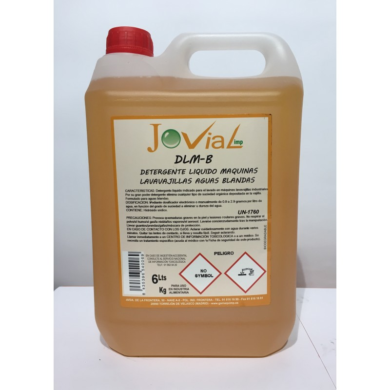 DML B - Detergente Mquinas Lavavajillas Aguas Blandas