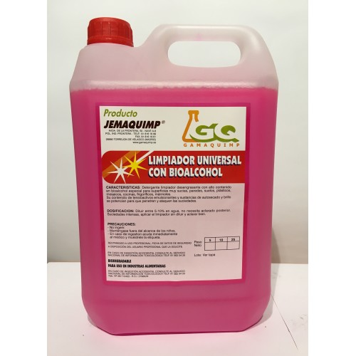 Limpiador con Bioalcohol