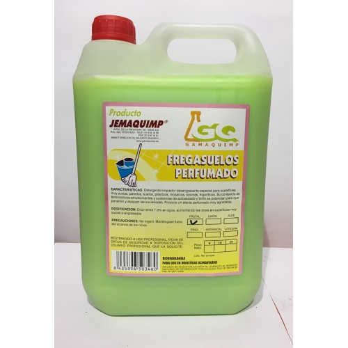 JEMAQUIMP - Fregasuelos Frutal con Bioalcohol