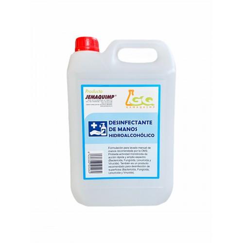 JEMAQUIMP - Gel Higienizante Hidroalcohólico