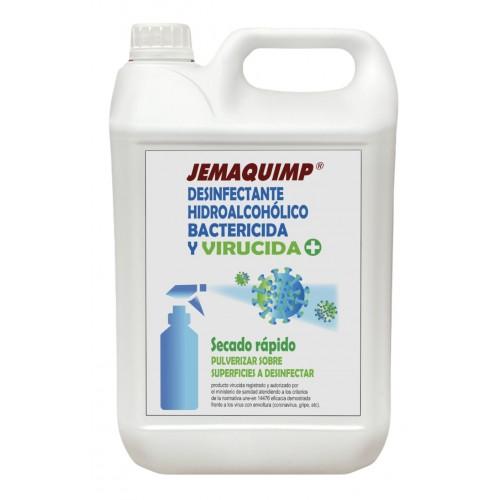 JEMAQUIMP - Desinfectante Hidroalcohólico Bactericida y Virucida
