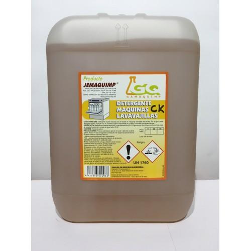 JEMAQUIMP - Detergente Máquinas Lavavajillas - CK (Aguas Semiduras)