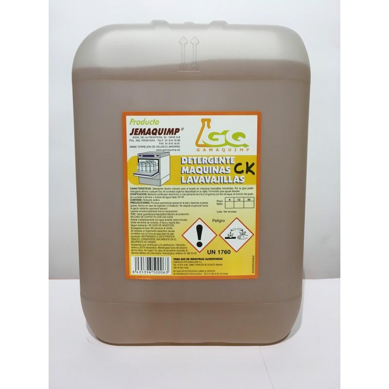 Detergente Mquinas Lavavajillas - CK (Aguas Semiduras)