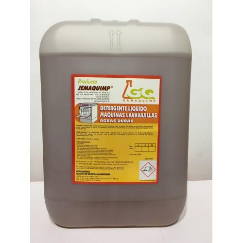 JEMAQUIMP - Detergente Máquinas Lavavajillas - AD (Aguas Duras)