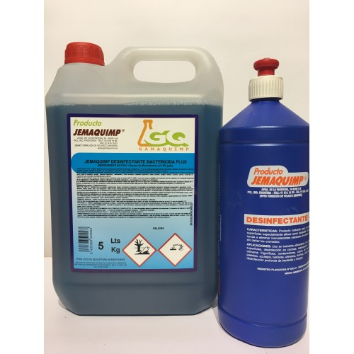 JEMAQUIMP - Desinfectante Bactericida Plus (Registro HA)